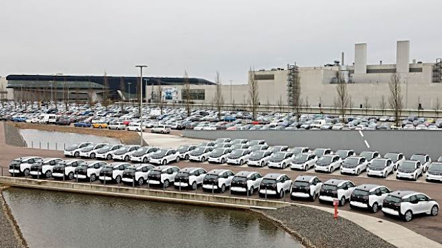 City of Leipzig gets 50 BMW i3 electric cars