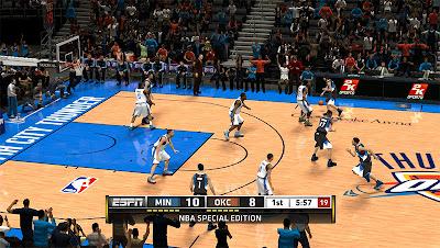 NBA 2K13 Oklahoma City Thunder Court Patch