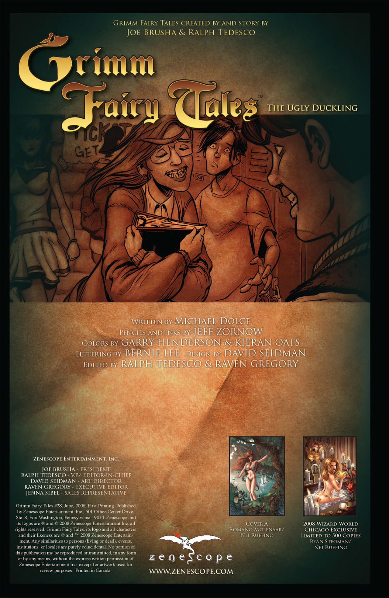 Grimm Fairy Tales (2005) Issue #28 #31 - English 2