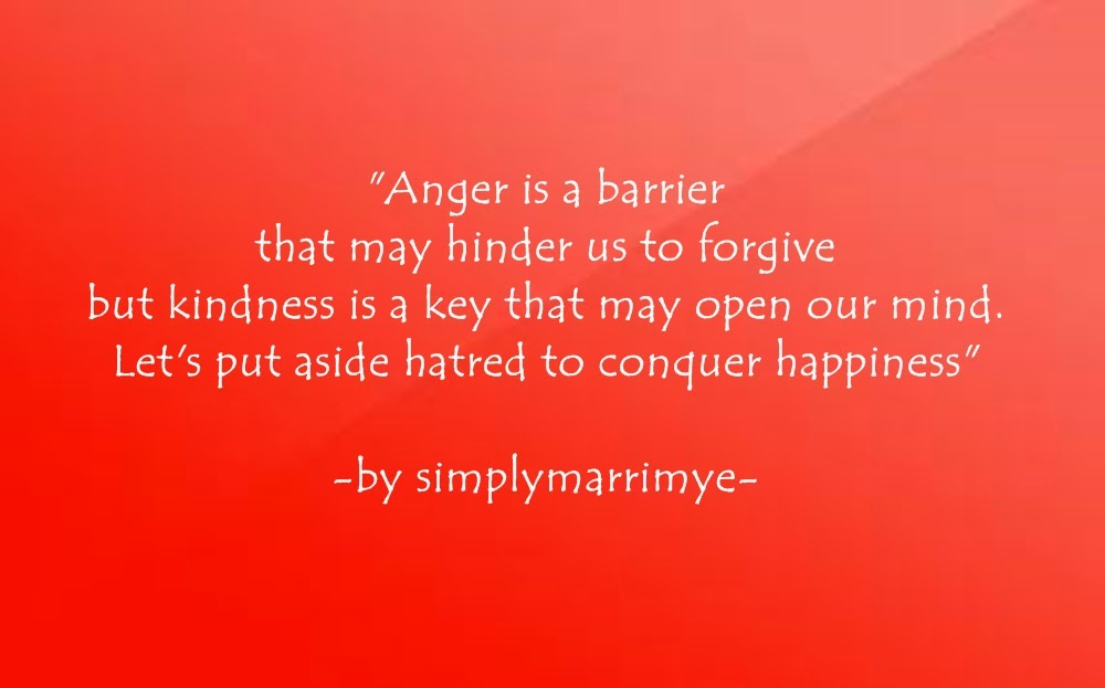 Simplymarrimye - Anger and Kindness