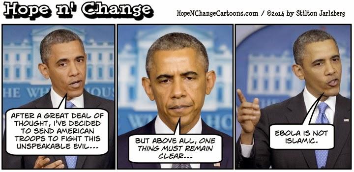 obama, obama jokes, cartoon, political, conservative, hope n' change, hope and change, stilton jarlsberg, ebola, ISIS