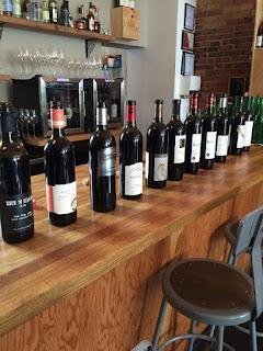 Ontario Cabernet Franc Wine Bottles