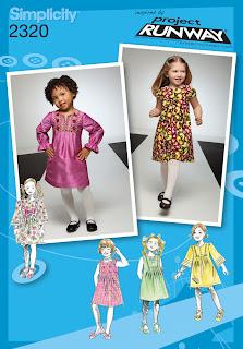 Simplicity 2320 Project Runway Girls Dress