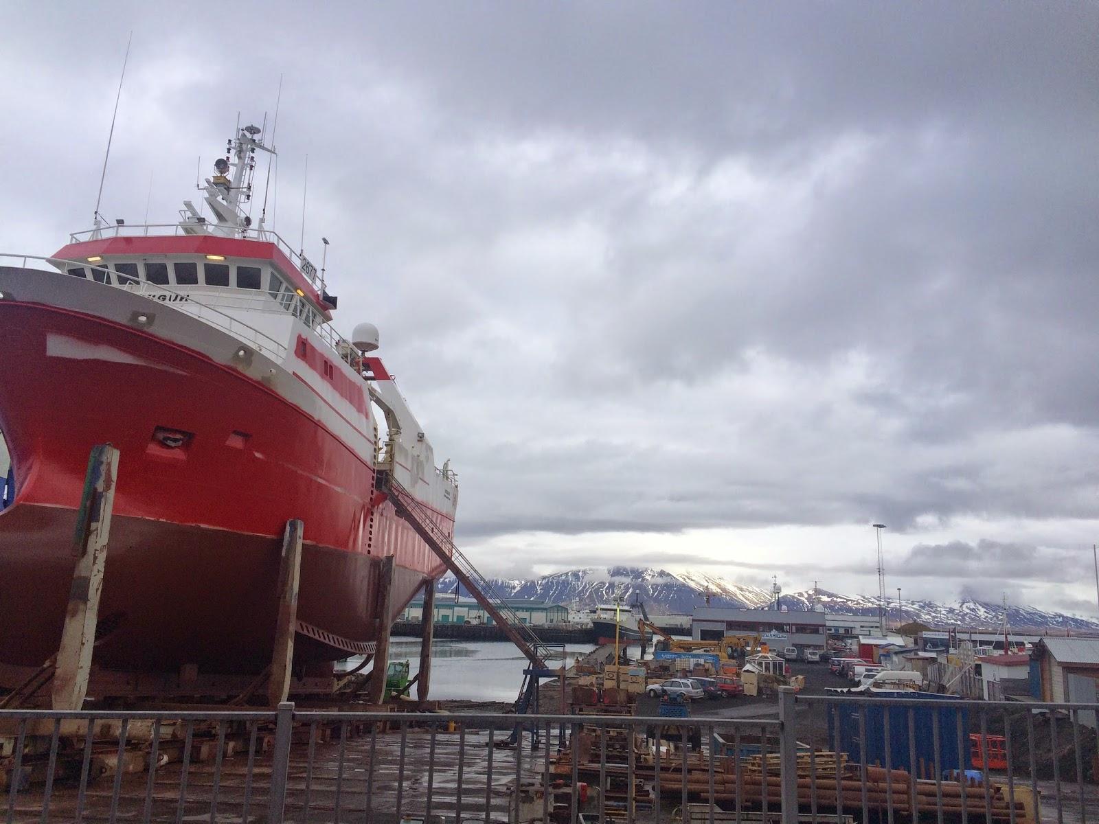 Reykjavik iceland marina