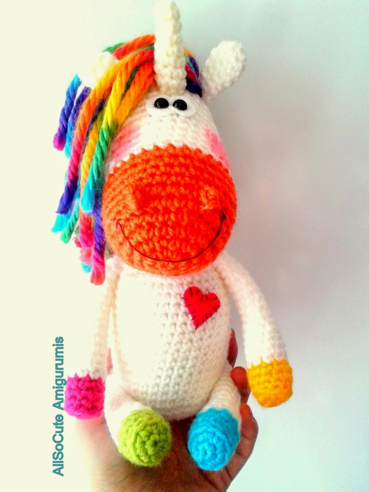 Ponytail Amigurumi : AllSoCute Amigurumis: Amigurumi Pony, Crochet Pony, Horse ...