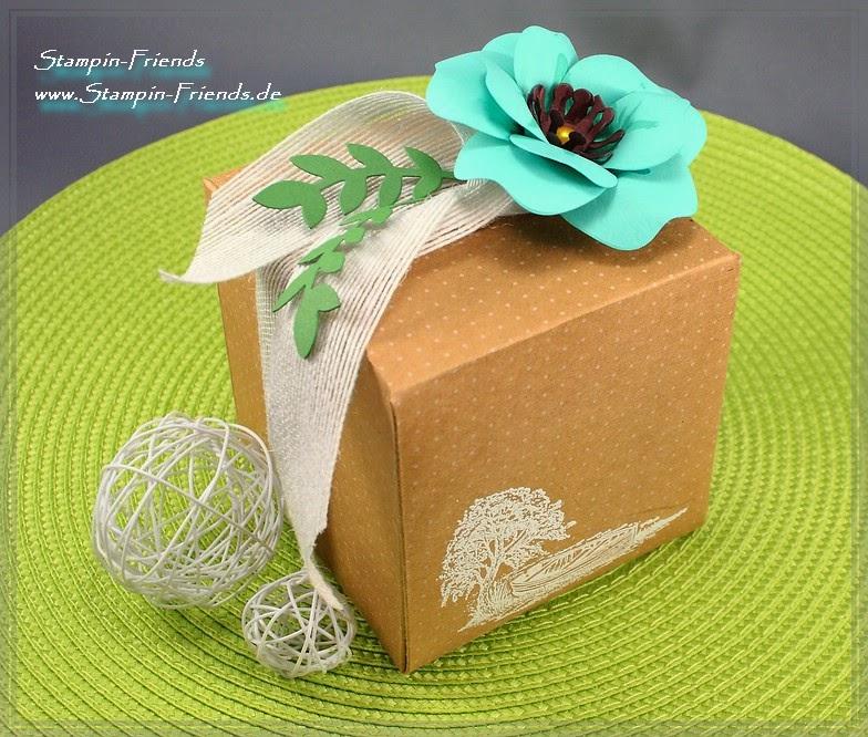 Geschenkverpackung, Stampin Up