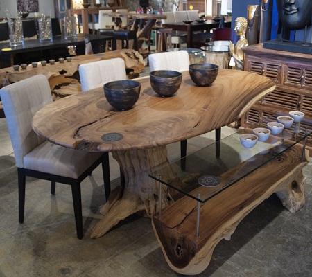 Teak Root Dining Table Base Dining Room Ideas - Teak root dining table base