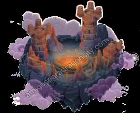 imagen del habitat de la isla calabozo de dragon city