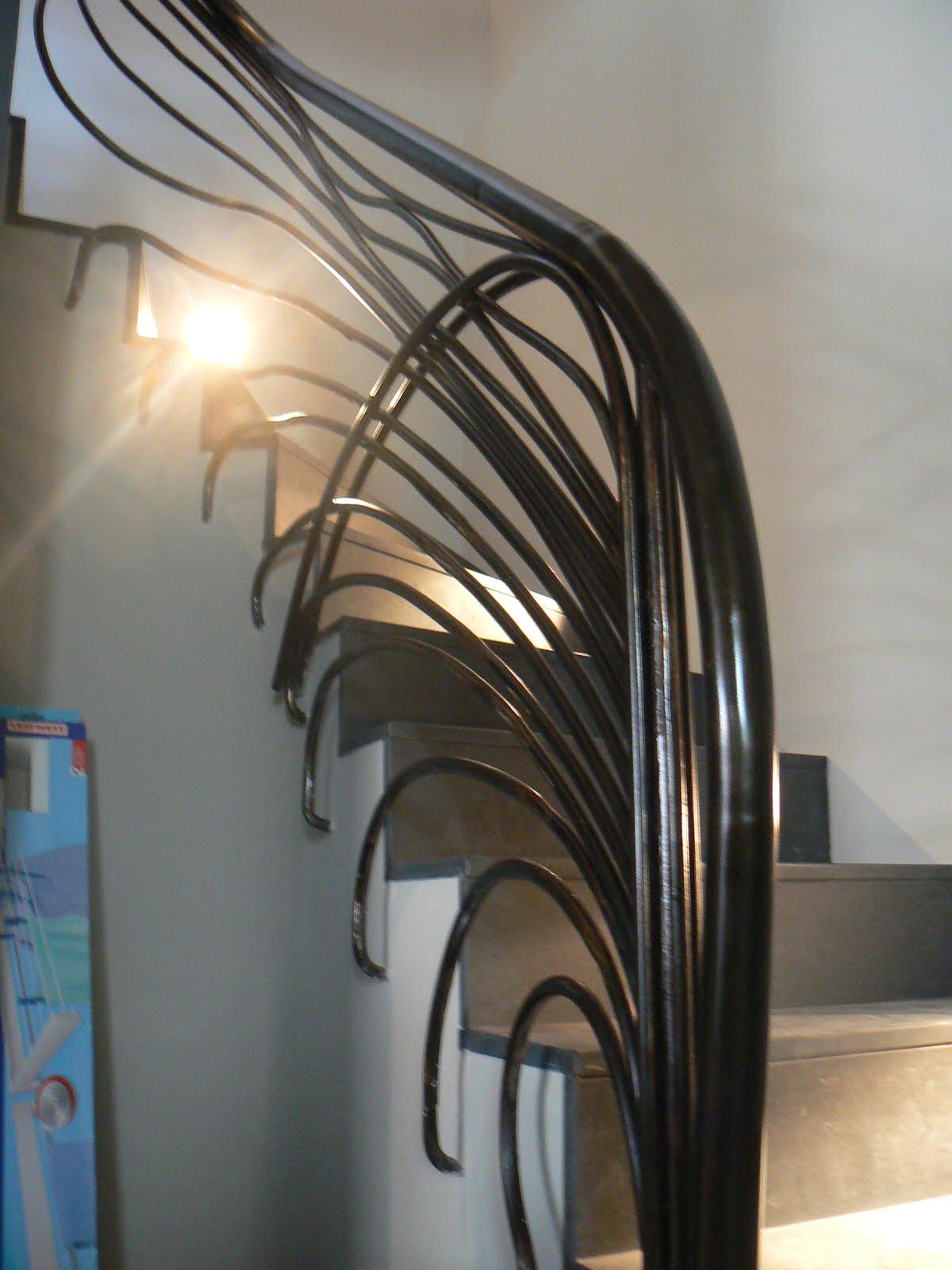 Herrer a barandilla escalera fernando de blasi - Barandilla de escalera ...