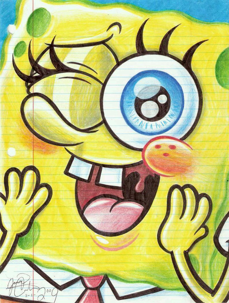 cool drawing cute spongebob wallpapers cute spongebob wallpapers