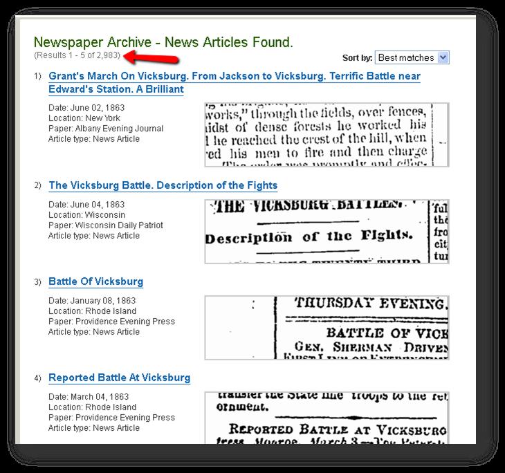 battle of vicksburg research paper