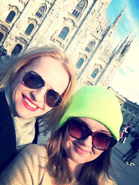 Shopping trip to Milan