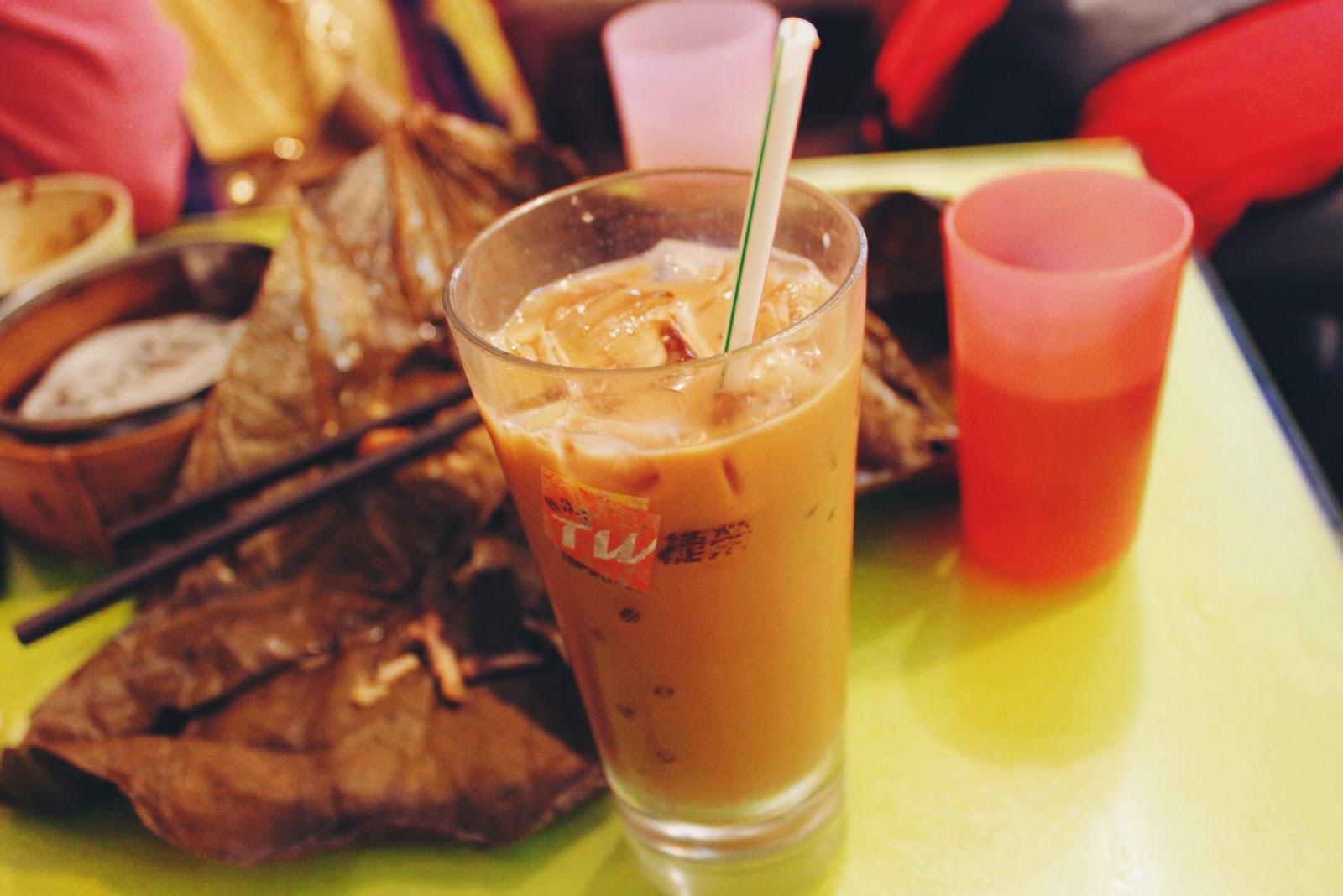港式奶茶, 富麗餐廳 Fu Li Restaurant @ 香港元朗 Yuen Long, Hong Kong