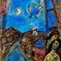 'Vesprada en la finestra (Marc Chagall)'