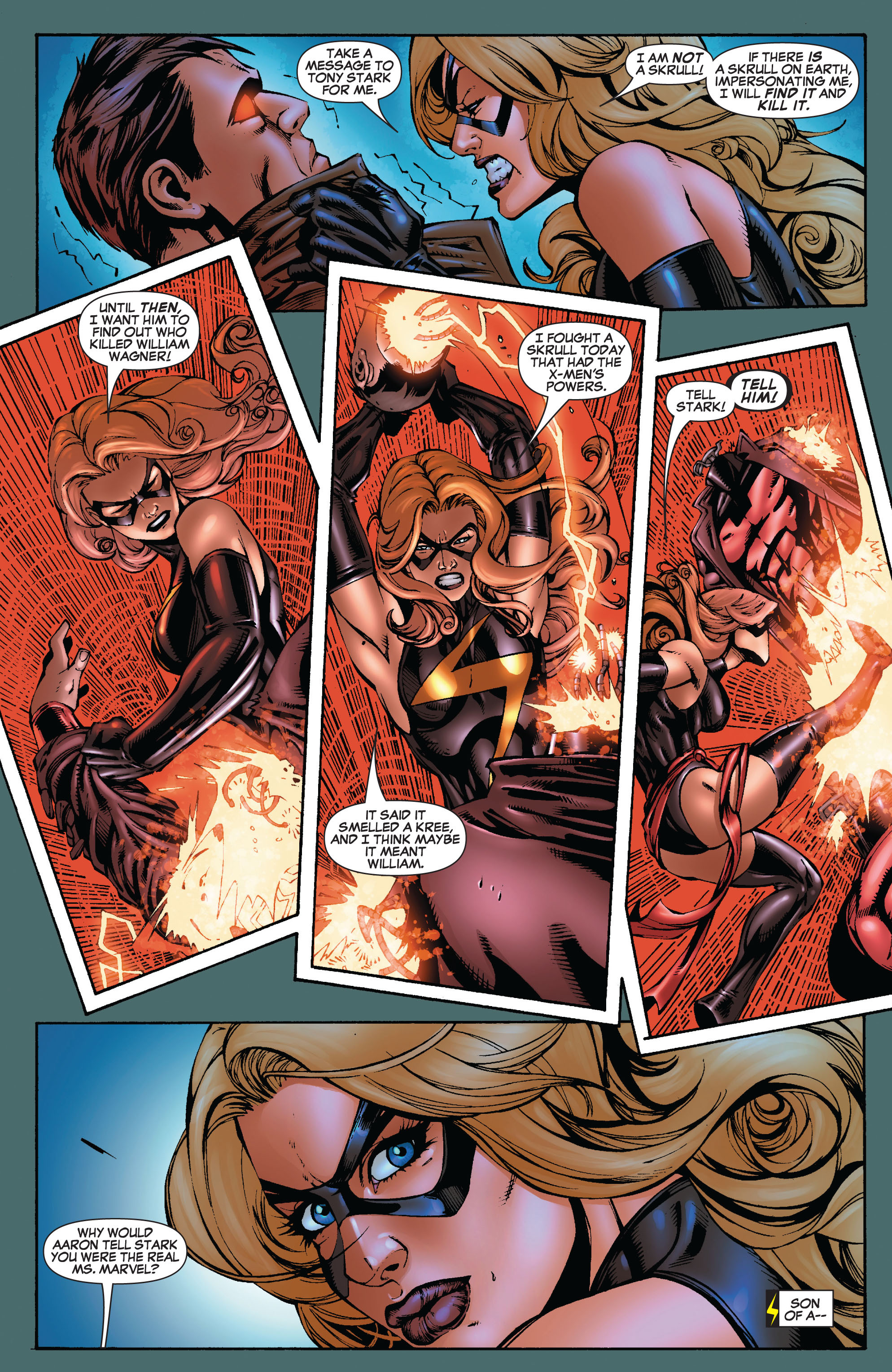 Read online Secret Invasion: The Infiltration comic -  Issue #9 - 11