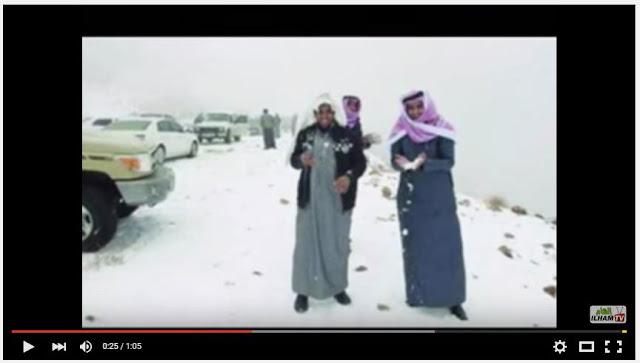 Salju Mulai Turun di Arab