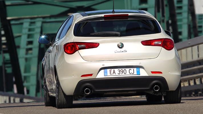 Alfa Romeo Giulietta Cloverleaf 2014