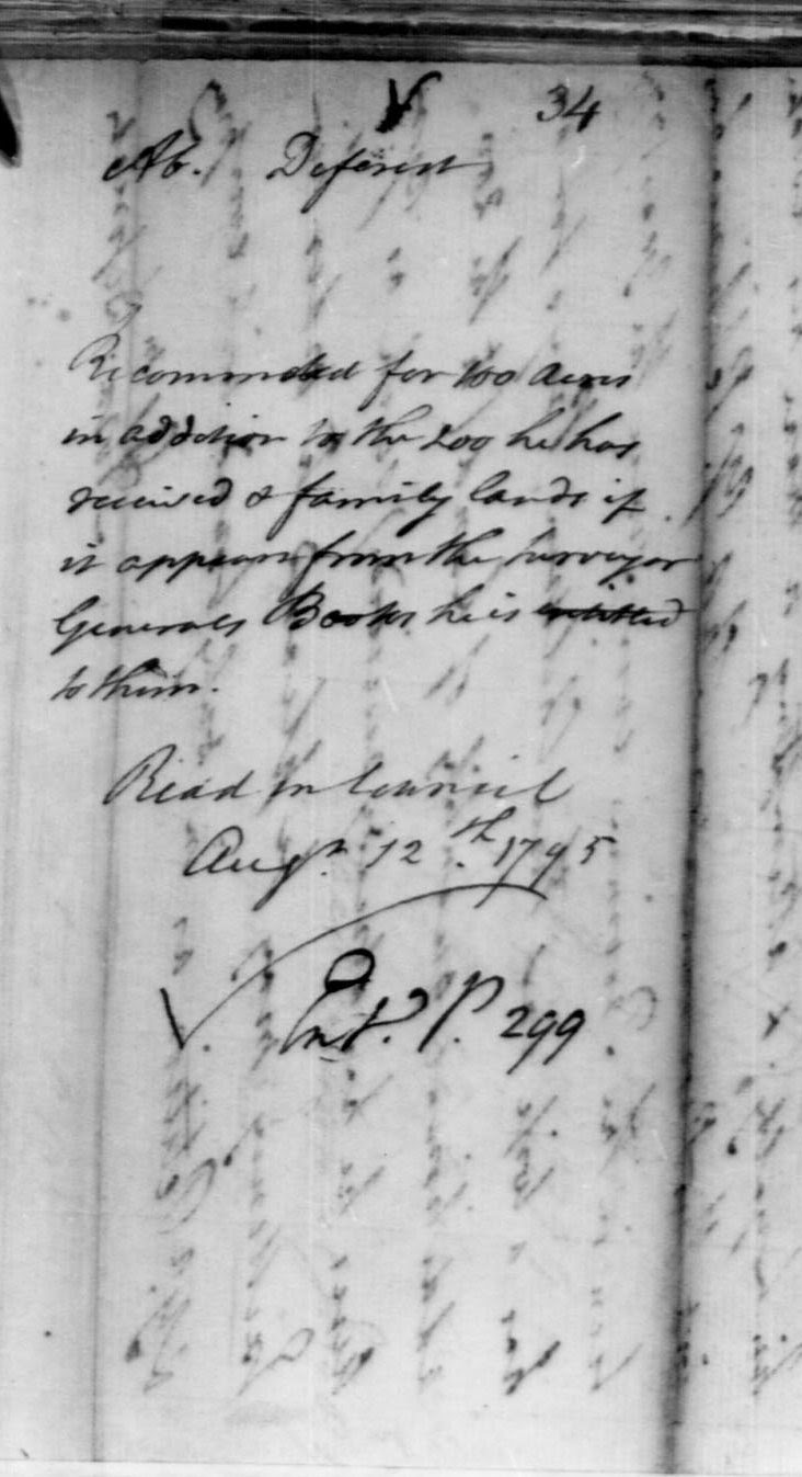 Olive Tree Genealogy Blog: Understanding Notations on the Envelope of an Upper Canada Land Petition