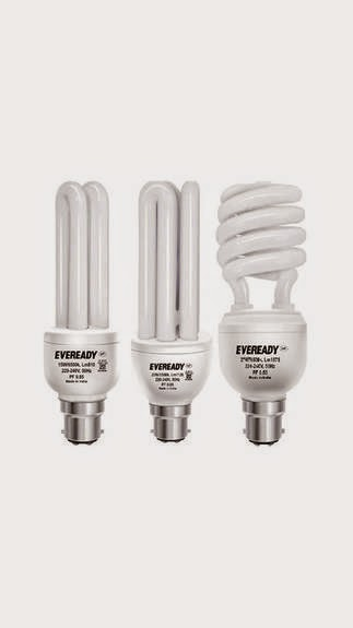 Eveready CFL 15W + 20W + 27W Combo (Get extra 50% cash back) for Rs. 349 at PayTM
