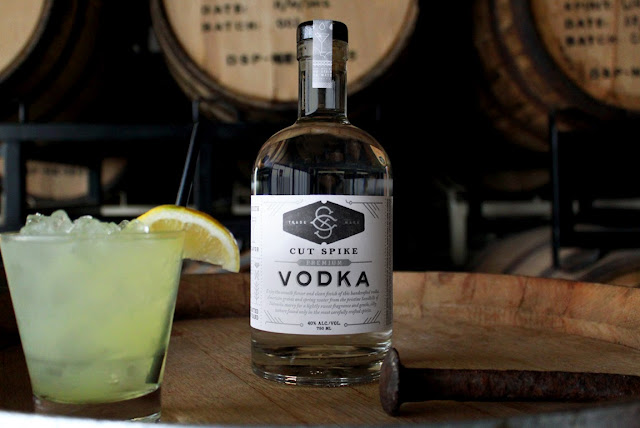 Packaging design inspiration #16 - Cut Spike Distillery by Archrival