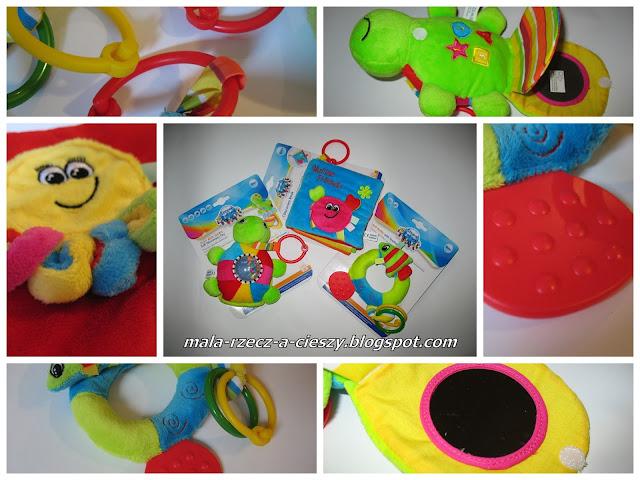 """Testowanie 3 pluszowych zabawek z serii """"Kolorowy ocean"""" od Canpol babies / filmik"""