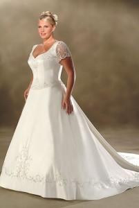 Vestidos de novia para mayores