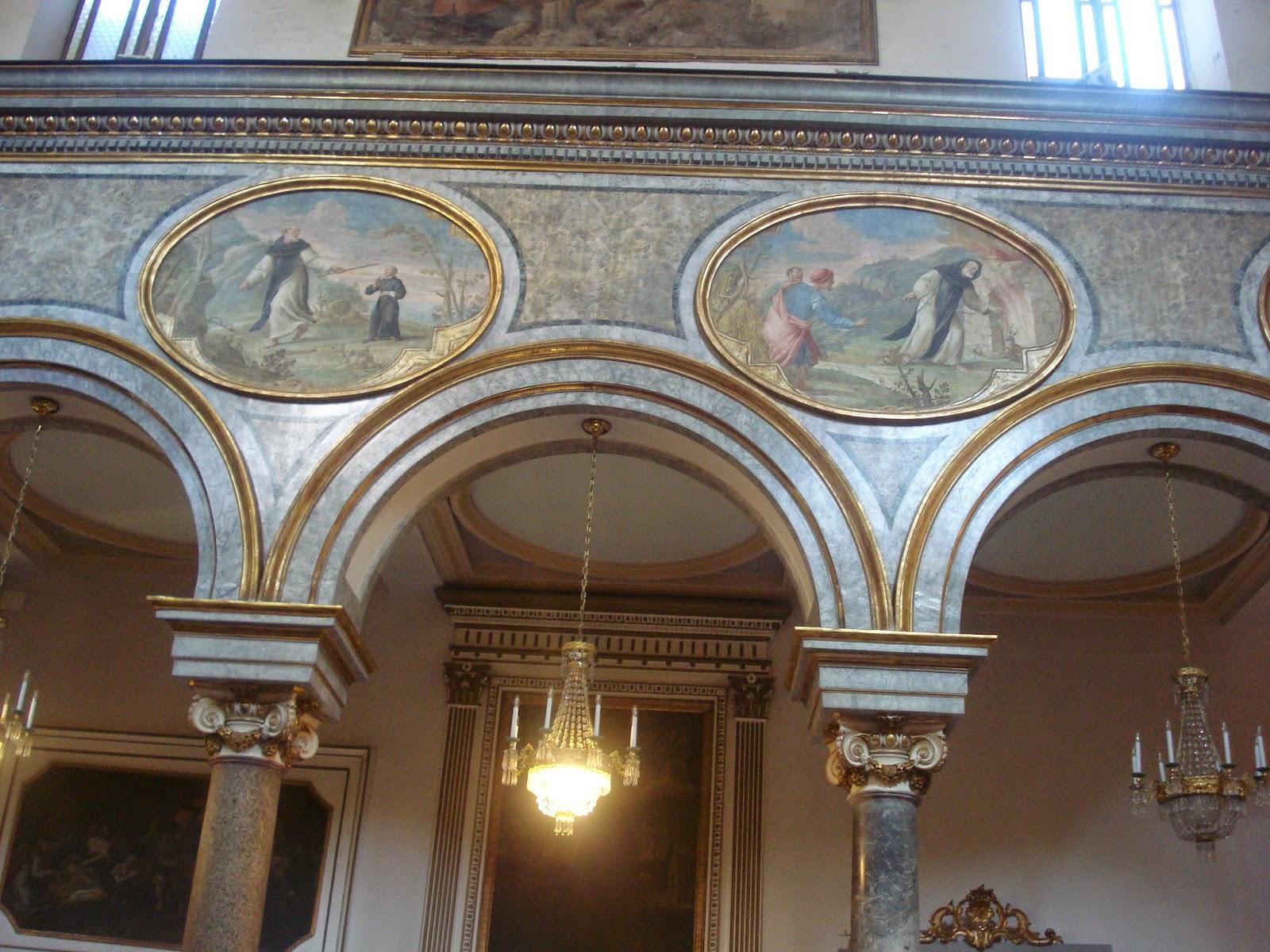 Soffitto Cielo Nuvole : Soffitto Dipinto Da Caravaggio: Palazzo ...