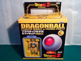 Dragon Ball Plastic Model Figure Nappa