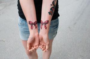 fotos de Tatuagens de Laço