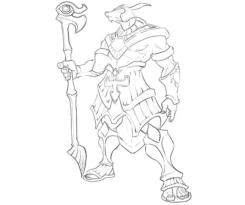League of legends coloring pages sketch coloring page for League of legends coloring pages