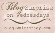 weekly blogcandy whiff of joy