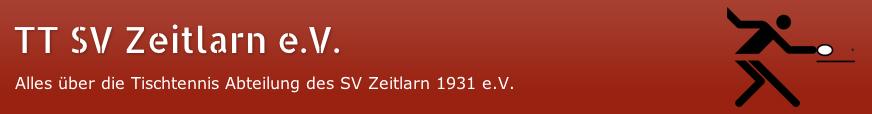 TT SV Zeitlarn e.V.