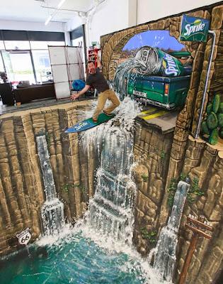 Air terjun 3D