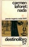 Lectura actual en el Club de lectura: Nada, de Carmen Laforet
