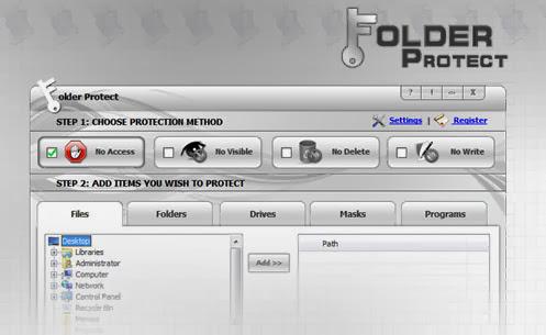 NewSoftwares Folder Lock 7 + Crack Full İndir