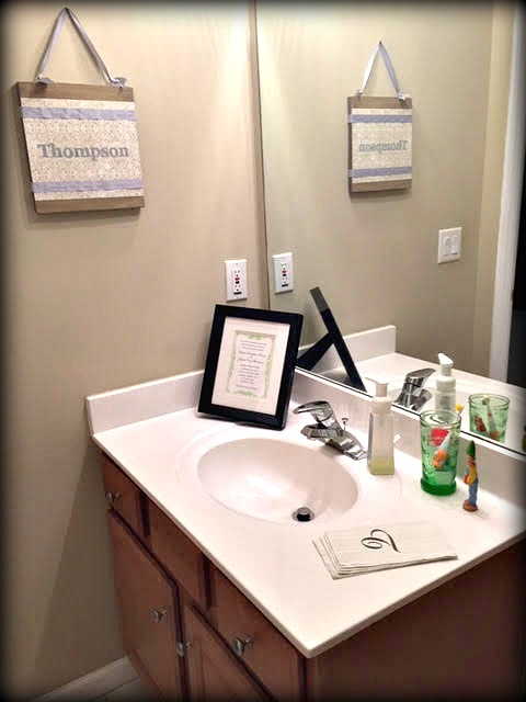 Fine White Vanity Mirror For Bathroom Tiny Tile Backsplash In Bathroom Pictures Solid Dual Bathroom Sink Renovation Ideas For A Small Bathroom Youthful Bathroom Dressing Room Ideas BrownWooden Bathroom Shelves With Towel Bar Married Filing Jointly (MFJ): Creating An Inviting Guest Bathroom