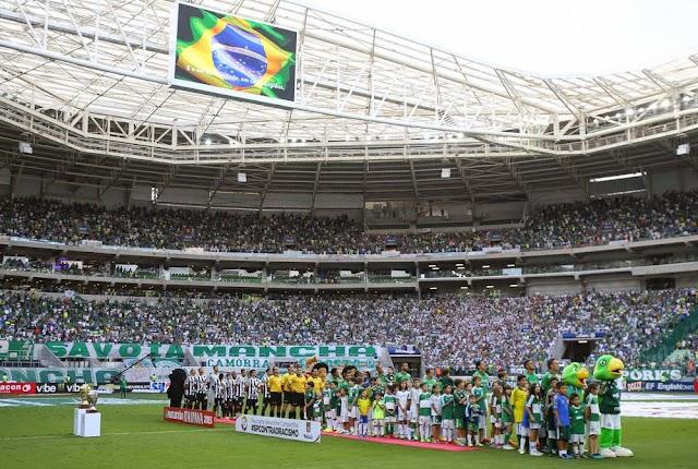 Com pênalti perdido, Palmeiras bate Santos na primeira final do Paulista