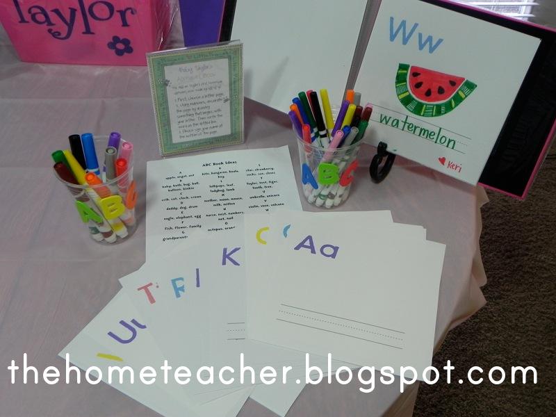 Book Themed Baby Shower The Home Teacher