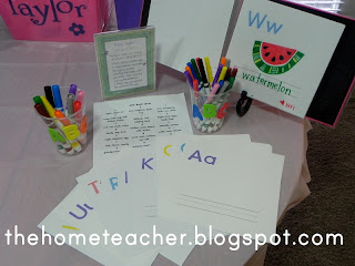 image regarding Free Printable Alphabet Books titled Alphabet Reserve: Free of charge Printable - The House Instructor
