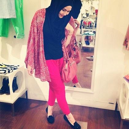 Foto Zaskia Adya Mecca Model Hijab Terbaru 2014 Tren Jilbab