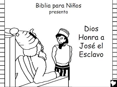 La Historia De Jose Para Colorear