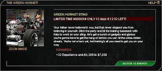 Green Hornet Sting