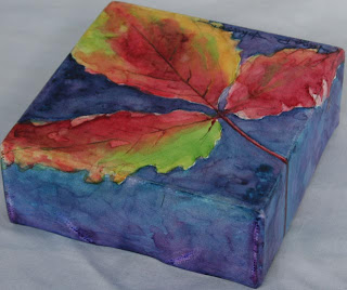 Make A Finished Watercolor Painting Glossy