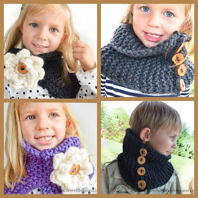 knit unisex cowl