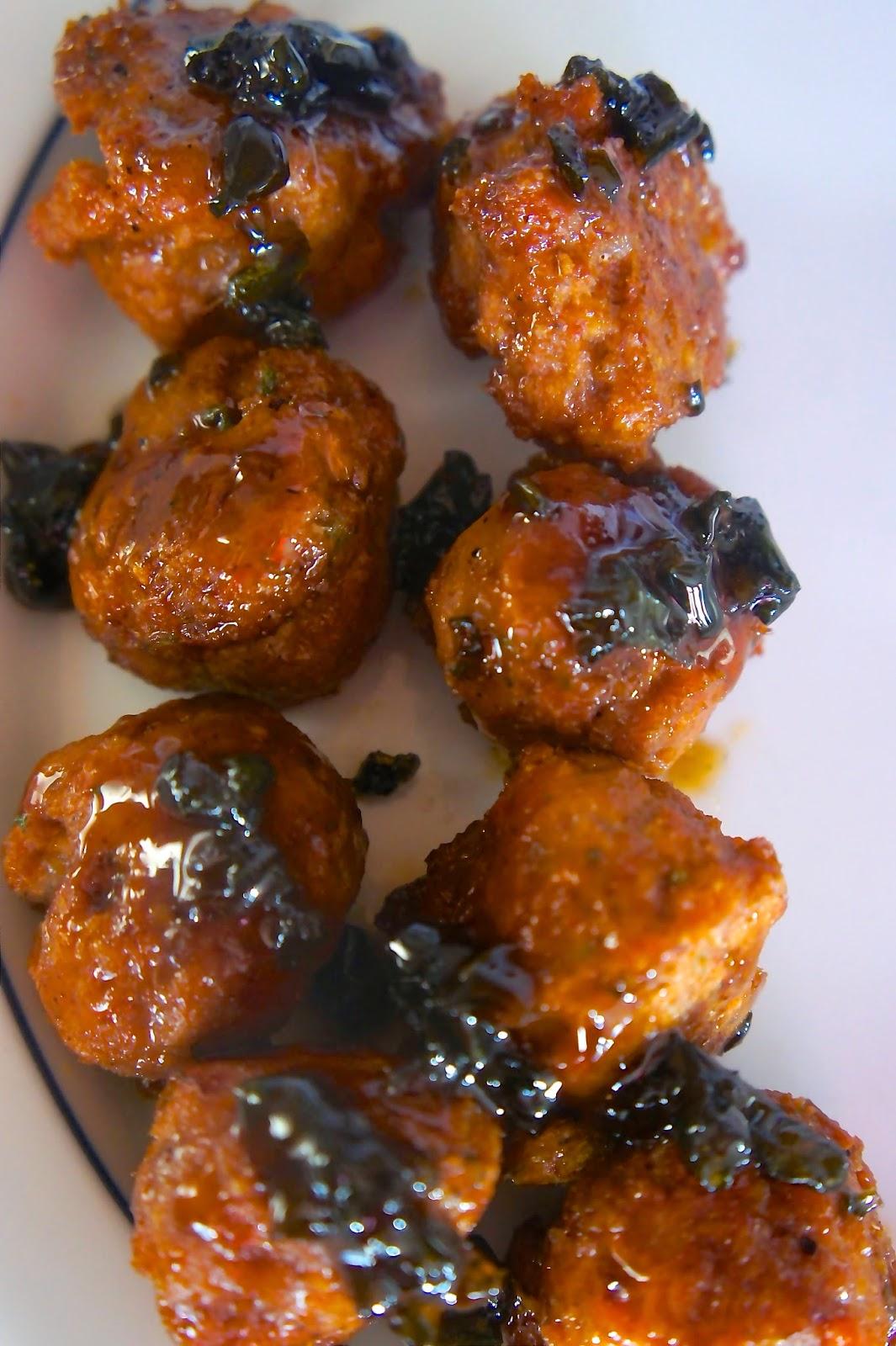 Cherry Coke and Jalapeño Glazed Meatballs: Savory Sweet and Satisfying