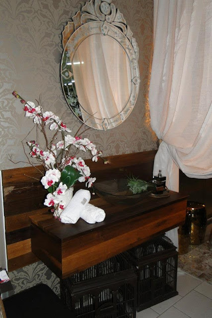 Lavabo elaborado para o Cliente Villa Di Casa