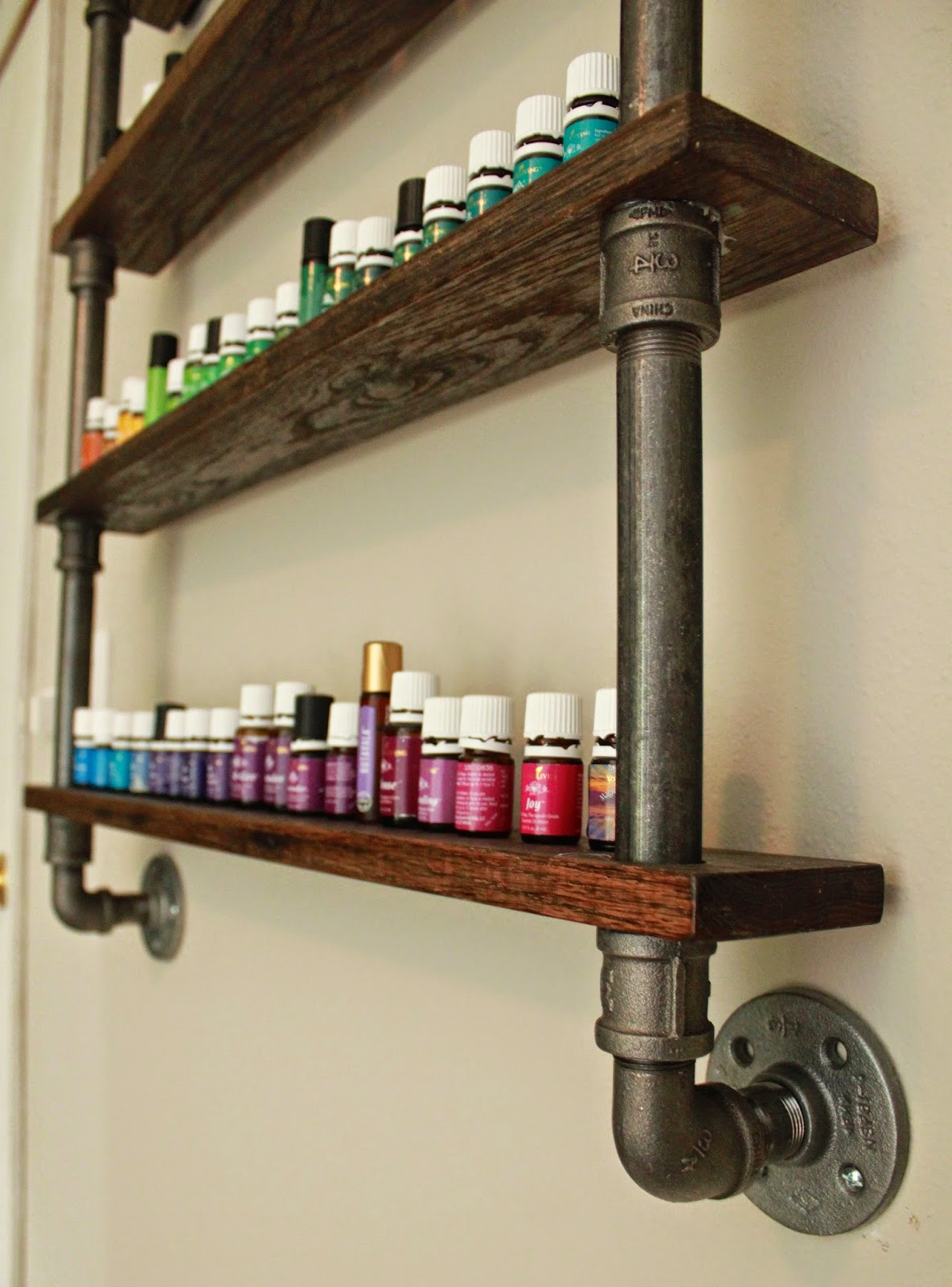 Diy Essential Oil Shelf A Young Wife S Tale