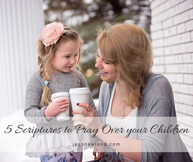 5 Scriptures to Pray Over your Children