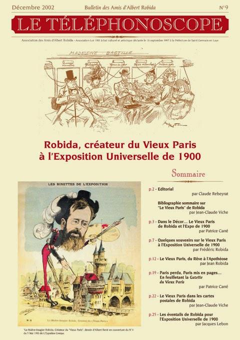 n°9 – Robida, créateur du Vieux Paris à l'Exposition Universelle de 1900