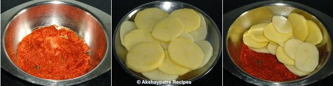 potato added to make batate phodi